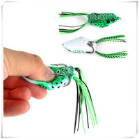 Wholesale freshwater frog lures for sale - Top Water Soft Bait Fishing Hooks Hollow Frog Fishing Lures Spoon Lures Crankbaits For Bass Snakehead In Saltwater Freshwater