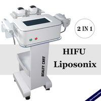 Wholesale new skin wrinkle machine for sale - Group buy 2020 New Liposonix Body Slimming Machine HIFU Face Lifting Wrinkle Removal IN HIFU Liposonix Fat Removal Ultrasound Skin Tightening