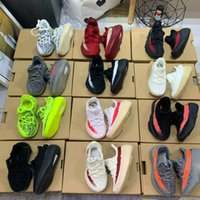 Wholesale big kids sneakers resale online - True Form Infant Hyper space Kids Running shoes Clay Kanye West Fashion toddler trainers big small boy girl Children Toddler sneakers