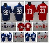 1afcb400b Men New York 26 Saquon Barkley Landon Collins Eli Manning women Giants ny  Jerseys Lawrence Taylor football Odell Beckham Jr jersey