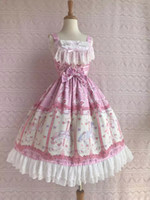 One Piece Style Pink Quality Theme Costume Fashionable Apparel Designer Women's Dress Sweet Lolita Dress Plus Size