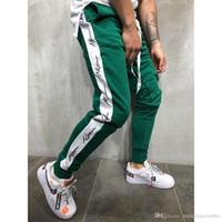 teenager mann hose großhandel-Herbst Winter Männer Hiphop Street Casual Designer Jogger Slim Fit Teenage Kleidung Pencil Pants