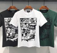 comprar calções de moda venda por atacado-2019 nova moda de alta qualidade de algodão em torno do pescoço de manga curta T-shirt impresso tamanho do crânio m-xxxl livre de frete bem-vindo a buy-6