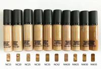 marca de maquillaje pro al por mayor-Envío gratis ePacket Nueva cara de maquillaje Marca caliente Pro Longwear Corrector! 9ml