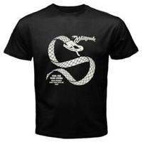 Wholesale white snake band online – design New White Snake Band Fool For Your Loving Album Men s BlaFashion T Shirt Size S XL