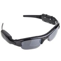 HD720P Spy Camera MP3 Bluetooth Headset Sport Sunglasses Cycling Skiing Recorder