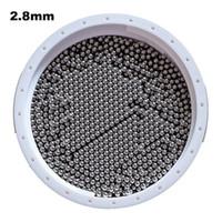 pulverizadores usados al por mayor-2.8mm 304 Bolas de acero inoxidable G100 para rodamientos, bombas, válvulas, pulverizadores, utilizados en la industria alimentaria, aeroespacial y militar