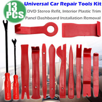 Wholesale stereo tools resale online - Pro Car Repair Disassembly Tools Kit Car DVD Stereo Refit Kits Interior Plastic Trim Panel Dashboard Installation Removal Tool
