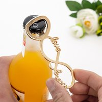 Wholesale metal souvenirs for wedding resale online - Creative Love8 Shaped Metal Beer Bottle Opener Wedding Souvenirs Bicycle Shaped Bottle Opener Birthday Anniversary Gift For Guest RRA2899