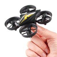 vs bir toptan satış-Mini Drone RC Drone Quadcopters Başsız Modu Bir Anahtar Dönüş RC Helikopter VS JJRC H36 Çocuklar Iyi Oyuncaklar Boys Için BH347