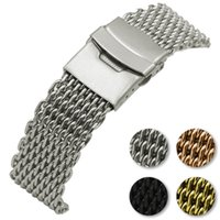 Wholesale quality gold watchbands resale online - Stainless Steel Braid Strap for Apple Watch Band High Quality Replacement Watchband for iWatch Wristband Buckle with Retail Package
