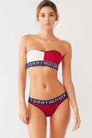 ingrosso signore vestite di bikini-Summer Ladies Clothes Designer Costume intero One-shoulder Leopard 2019 Bikini