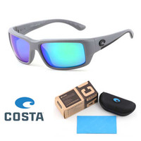 Wholesale beach color sunglasses for sale - Group buy Brand designer Colors TR90 Frame Polarized lens Costa sunglasses for Men Women Outdoor beach Sport Sun Glasses Eyesware with Retail box