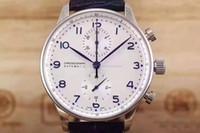 çok işlevli kol saati toptan satış-Yeni lüks erkek izle IW 371446 Portekiz 7 pilot serisi Mekanik otomatik askeri Saatı multi-functiona kaliteli spor saatler