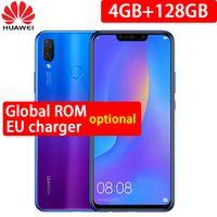 ingrosso email del corpo-Huawei nova 3i nova3i telefono cellulare 4G / 6G Ram 64G / 128G ROM 6,3 pollici Kirin710 Octa Core Android 8.1 telefono cellulare corpo Smartphone