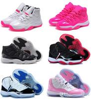 ücretsiz çevrimiçi basketbol ayakkabıları toptan satış-72-10 Orijinal 11 11 s kadın basketbol ayakkabı çevrimiçi ucuz satış en iyi kalite gerçek sneakers ABD boyutu 5.5-8.5 ücretsiz kargo ile kutusu