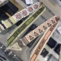 ingrosso twill di seta di raso-donne sciarpa di seta fascia scraves marca del grado superiore di seta fascia doppia faccia stampato twill di raso Can Borse Sciarpa Durag A-8