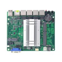 Wholesale intel single core for sale - Group buy Dual core mini motherboard j1900 single network port six serial port integrated graphics