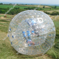 açık havada satılık oyunlar toptan satış-Free shipping inflatable hamster ball for sale dia 3m human size zorb ball for outdoor games cheap price inflatable ball