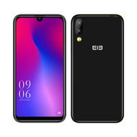 ingrosso telefono cellulare-Elephone A6 Mini 5.71 pollici waterdrop schermo telefono cellulare Android 9.0 MT6761 Quad Core HD + 4 GB 32 GB / 64 GB 16MP 3180mah Smartphone