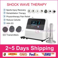Manufacturer direct sale !!! Top portable shockwave therapy machine extracorporeal shock wave therapy equipment for ED treatments CE DHL