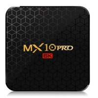 Wholesale android tv box 64 bit for sale - Group buy MX10 Pro Android TV Box GB GB Allwinner H6 Quad Core bit HDMI G Wifi Smart Media Player