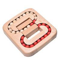 aprender a desenhar animais venda por atacado-Bloqueio de madeira Toy Inteligência Ming Luban Locks Tradicional Cérebro Teaser de Puzzle Brinquedos Educativos China Antiga Ancestral Locks Crianças