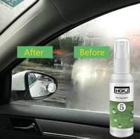 gafas de coche a prueba de agua al por mayor-20ml Car-styling Auto Glass Anti-fog Agent Car Windscreen Glass Revestimiento hidrofóbico Impermeable a prueba de lluvia para baño