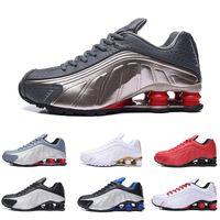 zapatillas anchas al por mayor-2019 TN AIR R4 Hitting Wider Metallic Silver para hombre zapatillas deportivas Mesh sports sneaker