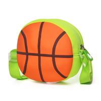 mädchen schultaschen zum verkauf groihandel-Heißer verkauf kinder tasche für jungen niedlichen 3d basketball kinder schultasche 1-5 jahre kleinkind messenger für mädchen beste geschenk