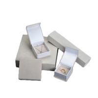 Wholesale bracelet velvet display case for sale - Group buy Velvet Wrapping Cardboard Gift Box Cream Color Jewelry Bracelet Bangle Earring Pendant Ring Packaging Paper Case New Packing Idea