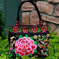 aeceaa65fa7442 Chinese Embroidered Handbags Online Shopping - Handicraft Embroidered  Handbags Vintage Flower Embroidery Bag Colorful Chinese Purses
