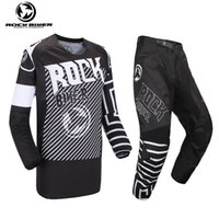 Wholesale mx moto for sale - Group buy ROCK BIKER New SALE Motocross Jersey And Pant ATV BMX DH MX Moto Suit Dirt Bike Combo Cycling Motorcycle Clothes Sets