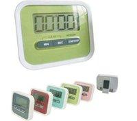 contar hacia arriba temporizadores al por mayor-Regalo de Navidad digital de cocina Count Down / Up Display LCD de la alarma del temporizador / reloj con imán clip de pie