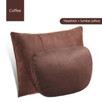 1pair for Mercedes-Benz car headrest S-class Maybach cervical pillow car seat car cushion pillow Auto lumbar decorative supplies