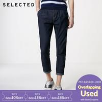pantalones de lino de los hombres al por mayor-Loose Fit hombres del verano de algodón y lino Cultivo Jeans C   419232513