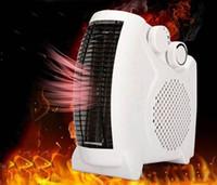 elektrische raumheizung großhandel-Mini Elektro-Warmluftgebläse Elektro-Lufterhitzer Winterraum-Heizlüfter Wäschetrockner Überhitzungsschutz
