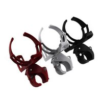 Wholesale black red bottle cage resale online - Motorcycle Bike Bicycle Drink Water Bottle Cup Holder Mount Cage Quick Release
