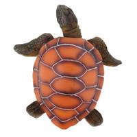 Wholesale toy sea turtles for sale - Group buy Aquarium Ornament Emulational Resin Sea Turtle Lifelike Aquatic Animal Toys