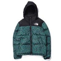 leopar erkek hoodie toptan satış-2019 Kış Erkekler Tasarımcı Parkas Marka Ceketler Aşağı Ceket Rüzgarlık Kamuflaj Leopar Moda Rahat Açık Mont Fermuar Hoodies 9972CE