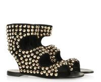 özel gece ayakkabıları toptan satış-039 Gerçek Görüntü Bayan Yaz Tarzı Ince Toka Askı Moda Parti Akşam Ayakkabı Custom Made Sandalet Düz sandalet