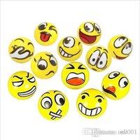 duygusal yüz toptan satış-Pazar jumbo squishy Komik Emoji Yüz Sıkmak Topları Modern Stres Topu Relax Duygusal El Bilek Egzersiz Stres Topları Oyuncaklar Stres