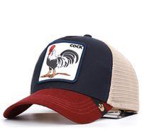 renkli nakışlar toptan satış-COCK Hiphop Tasarımcı Beyzbol Şapka Moda Sokak Yaz Erkek Top Kapaklar Renkli Erkek Nakış Şapkalar