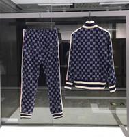 erkek başörtüsü hoodie toptan satış-19 Erkek Polo Kapüşonlular ve Sweatshirtler Spor Erkek Polo Ceket pantolonlar Koşu Koşu Koşu Turtleneck Spor Eşofman Takim Eşofman Takim