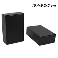 Wholesale package cookies for gifts for sale - 30pcs x9 x3cm Black Kraft Paper Packaging Boxes for Jewelry Accessory Craft Paper Cookies Food Storage Packing Boxes for Birthday Gifts