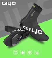 дорожные чехлы для обуви оптовых-GIYO зима Велоспорт бахилы обувь обложка MTB дорожный велосипед бахилы водонепроницаемый Бесплатная доставка