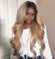 Wholesale ash wigs for sale - Group buy 1b Ash Blonde Lace Front Wig Silky Straight Brazilian Virgin Human Hair Density Bleached Knots Pre Plucked With Baby Hair