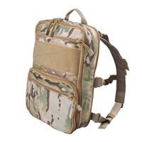 mochila táctica de assalto molle venda por atacado-Flatpack D3 Tactical Mochila Hidratação portador Molle Pouch engrenagem Multipurpose Vest assalto Softback Travel Bag