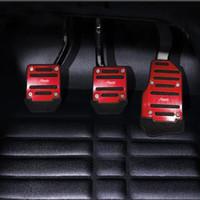 asiento exeo al por mayor-caso de la cubierta del pedal del freno Car Styling gas para SEAT Ibiza Cupra concepto León Toledo Arosa Alhambra Exeo Supercopa Altea Córdoba