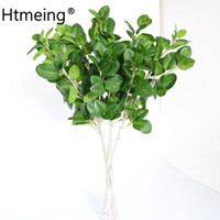Wholesale mint party decorations for sale - Group buy Artificial Peppermint Leaf Bunch Simulation green Leaves branches Mint Greenery Decorative Home Wedding Party Decorations Tree